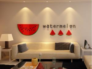 Sticker acrilic 3D Watermelon 36x180 cm