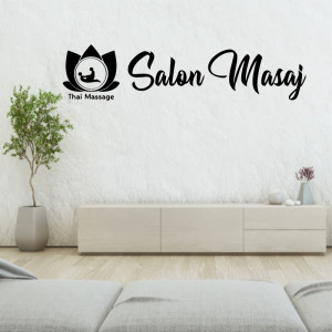 Sticker decorativ Salon Masaj 2
