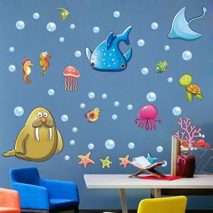 Sticker perete Animale Marine