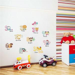 Sticker perete Cifre Vesele