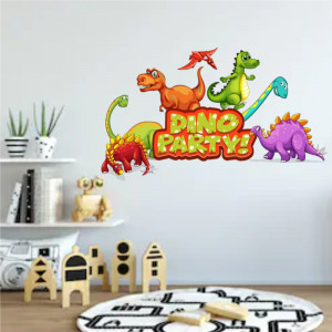 Sticker perete Dino Party