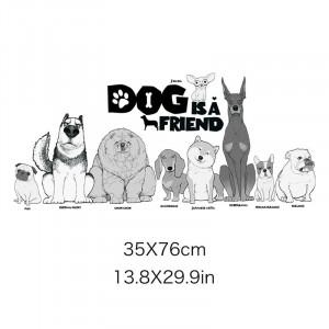 Sticker perete Dogs