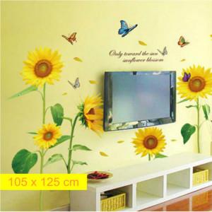 Sticker perete Floarea Soarelui Decor