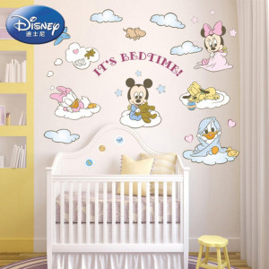 Sticker perete It is Bed Time Disney 120 x 75 cm