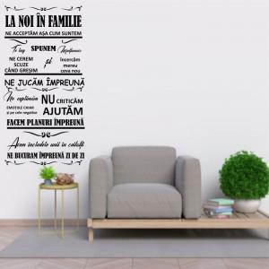 Sticker perete La Noi in Familie
