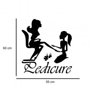 Sticker perete Pedicure