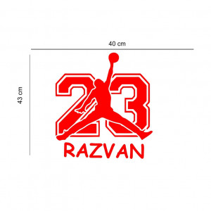 Sticker perete personalizat My Name Boy 18