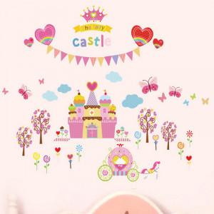 Sticker perete Princes castle