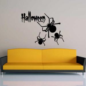 Sticker perete Spiders