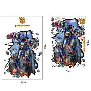 Sticker perete Transformers 3D