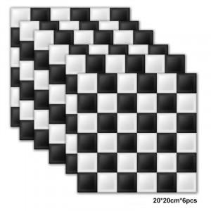 Set stickere decorative faianta Tabla de Sah