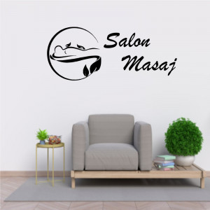 Sticker decorativ Salon Masaj 1