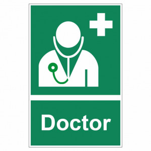 Sticker indicator Doctor