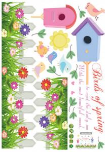 Sticker perete Birds Of Spring
