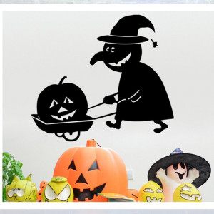 Sticker perete Halloween Decor 6