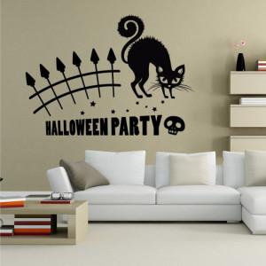 Sticker perete Halloween Party