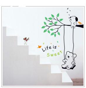 Sticker perete Life is Sweet