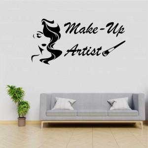 Sticker perete Make Up Artist 3