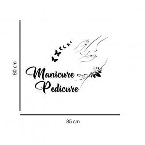 Sticker perete Manicure and Pedicure 1