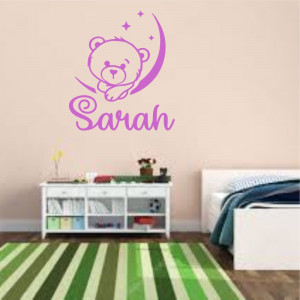 Sticker perete personalizat My Name Girl 16