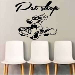 Sticker perete Pet Shop