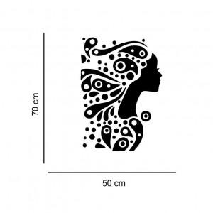 Sticker perete silueta Femeie 5