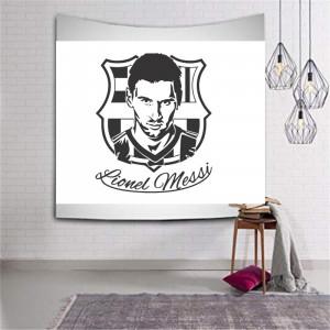 Sticker perete Silueta Lionel Messi