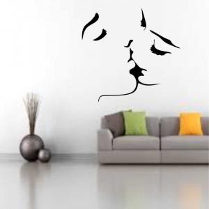 Sticker perete siluete Indragostiti