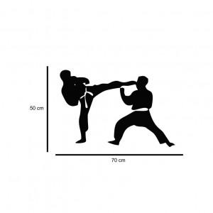 Sticker perete Siluete Karate