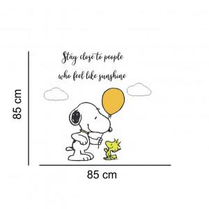 Sticker perete Snoopy - Stay Close