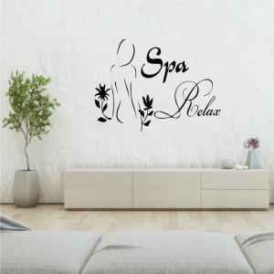 Sticker perete Spa Relax