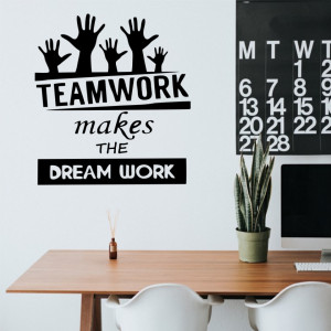 Sticker perete TeamWork