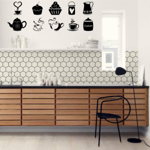 Set stickere bucatarie Kitchen Decor 1