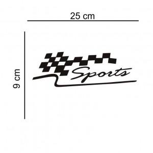 Sticker auto Sports