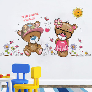 Sticker perete Bear Love
