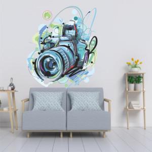 Sticker perete Camera Foto
