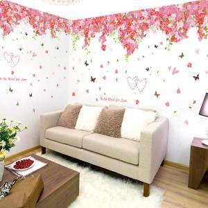 Sticker perete Cherry Vines