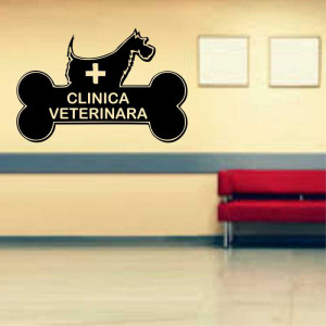 Sticker perete Clinica Veterinara 4