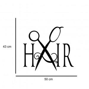 Sticker perete Coafor 5