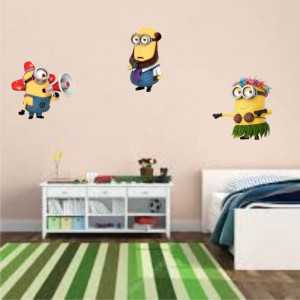 Sticker perete Despicable Me set 3 buc