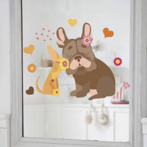 Sticker perete Dog Love