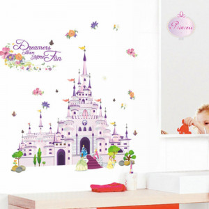 Sticker perete Dream Castle