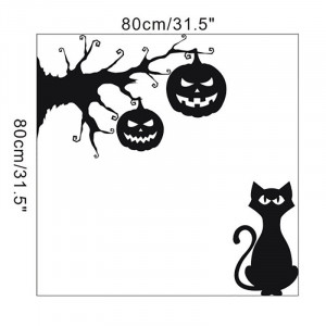 Sticker perete Halloween Decor 2