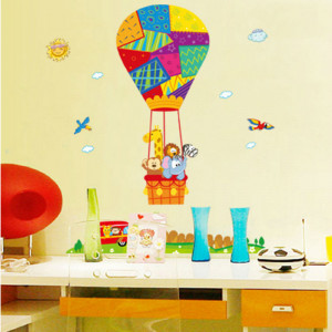 Sticker perete Happy Baloon
