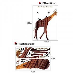 Sticker perete Magical giraffe