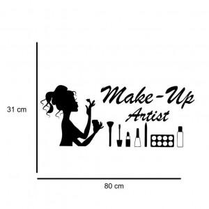 Sticker perete Make Up Artist 2