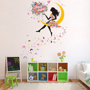 Sticker perete Moon Fairy