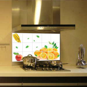 Sticker perete Oranges Kitchen Decor