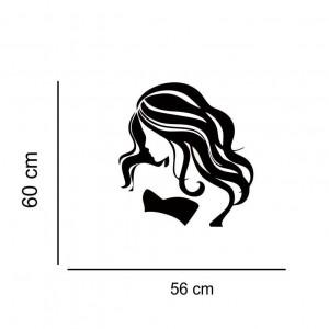 Sticker perete silueta Femeie 4