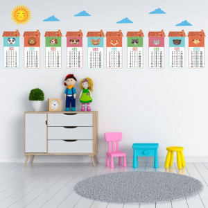 Sticker perete Tabla Inmultirii